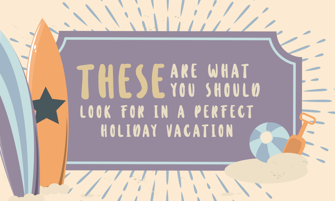 These Are What You Should Look For In A Perfect Holiday Vacation Cover
